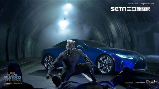 Lexus LC500 黑豹 圖/LEXUS提供