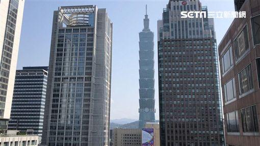 統一國際大樓,信義區,商辦。(圖/記者蔡佩蓉攝影)