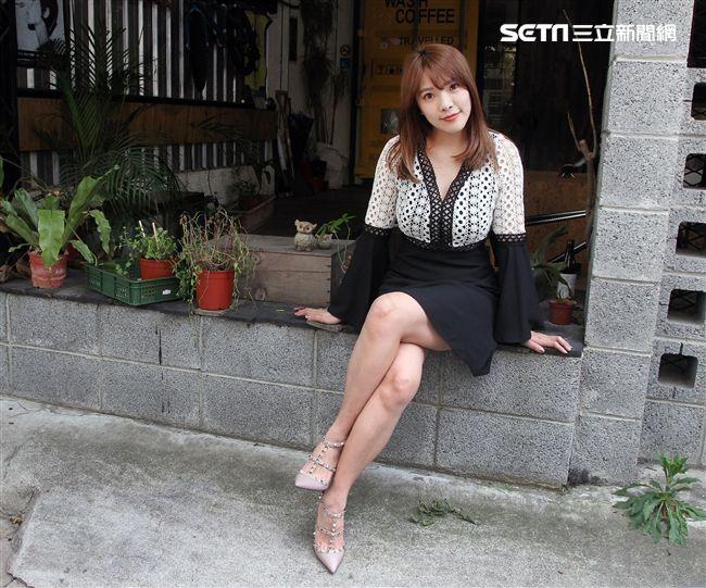 小優接受三立新聞網專訪。(記者邱榮吉/攝影)