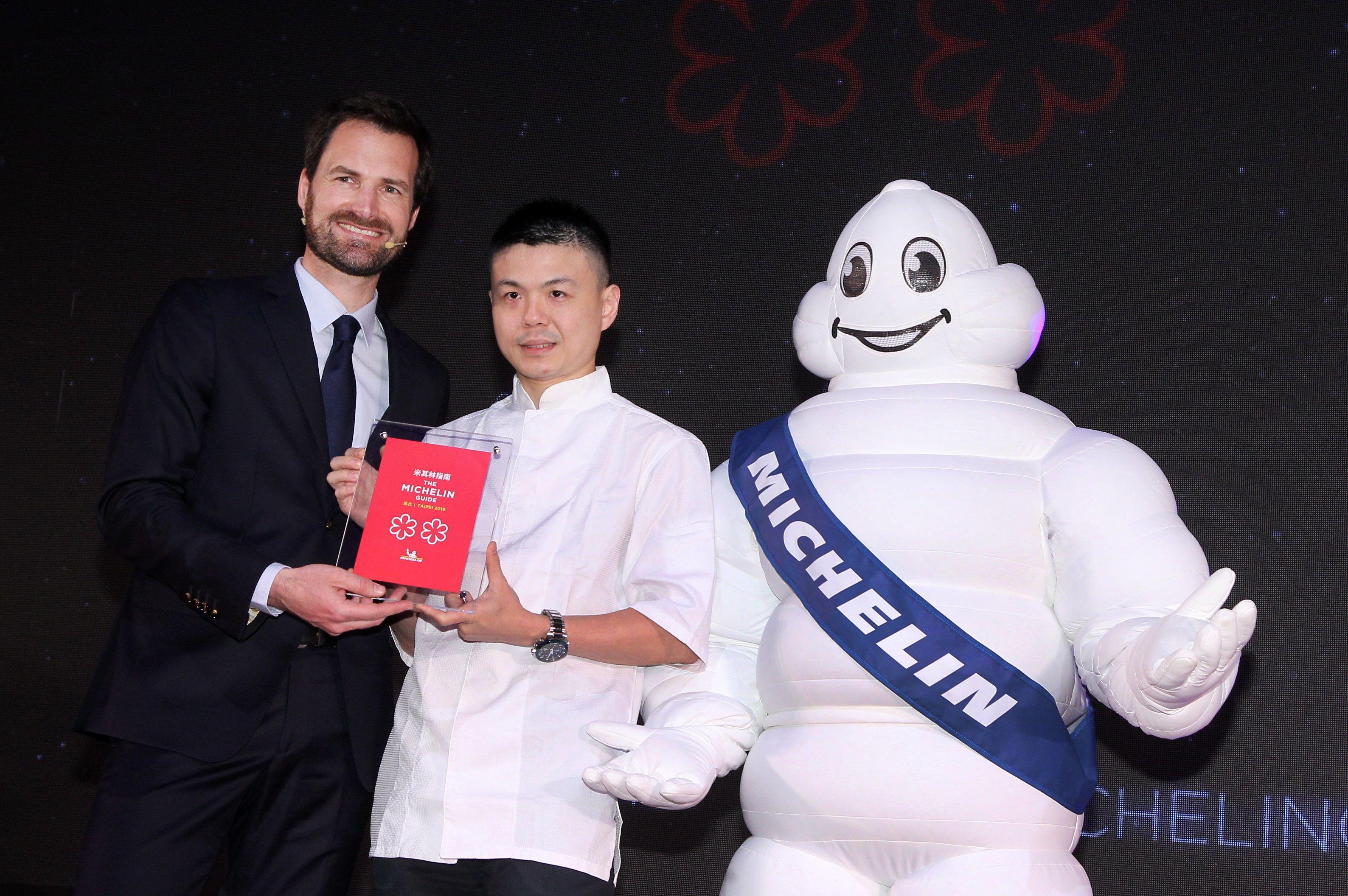 2019台北米其林二星餐廳RAW。(記者邱榮吉/攝影)