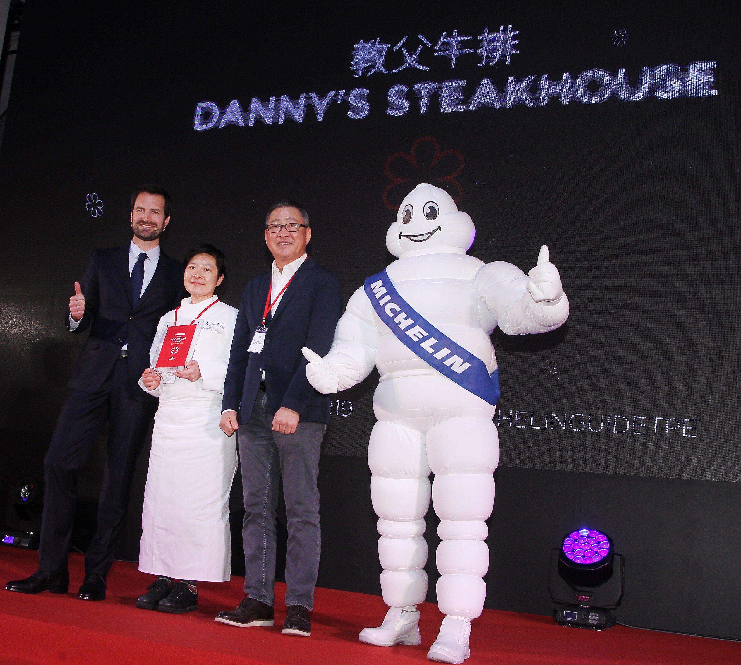 2019台北米其林一星餐廳教父牛排。(記者邱榮吉/攝影)