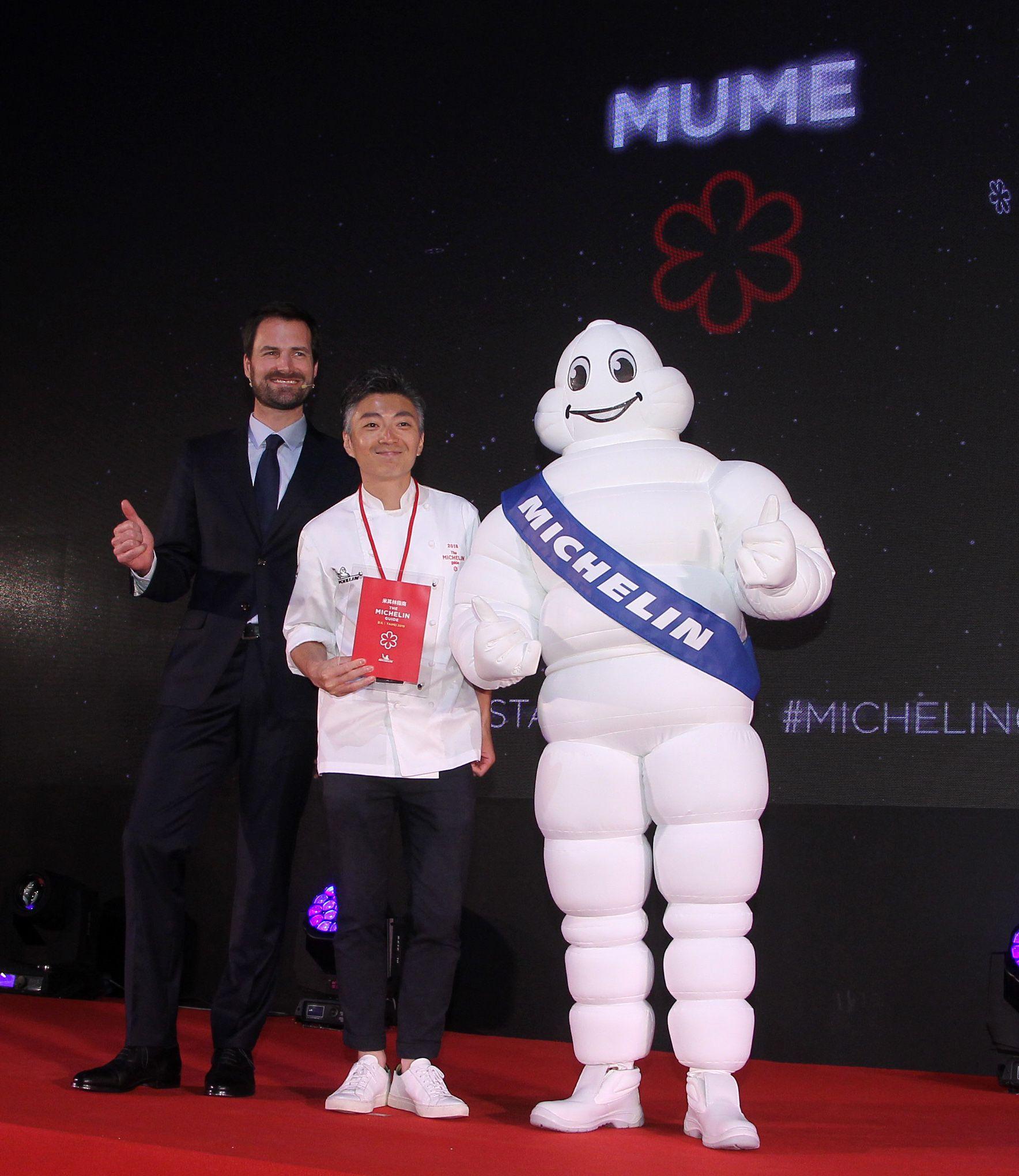 2019台北米其林一星餐廳 MUME。(記者邱榮吉/攝影)