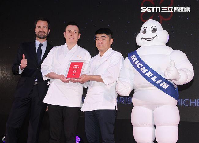 2019台北米其林一星餐廳吉兆割烹壽司 。(記者邱榮吉/攝影)