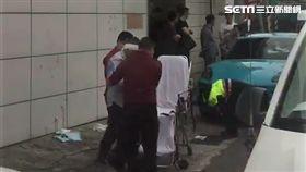 台北市延平北路七段兩男被圍毆現場(讀者提供)