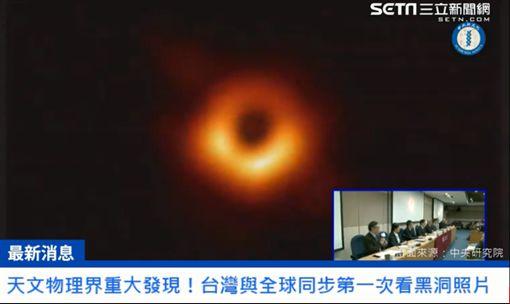 本世紀重大發現!全球首張黑洞照曝光 見證人類重要一刻