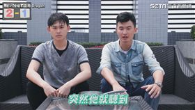 ▲網紅「雷翔 Dragon」挑戰冷笑話憋笑比賽。(圖/雷翔 Dragon 授權)