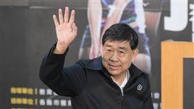 106企業排球聯賽體育線開賽記者會,中華奧會副主席蔡賜爵。 圖/記者林敬旻攝