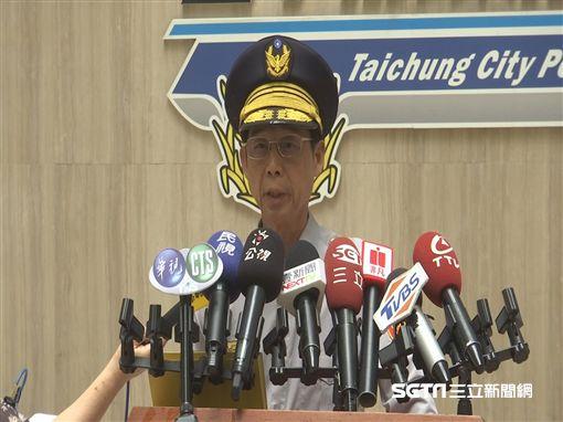 台中市警局、台灣大道/記者江濬禓攝