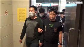 警方逮捕郭姓男子在內等8名惡煞(翻攝畫面)