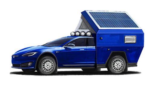 ▲Tesla Roamer露營車(圖/翻攝網路)
