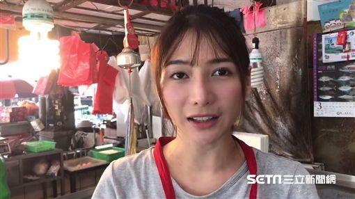 「最美魚販」劉芃芃(阿澎)/記者許書維攝