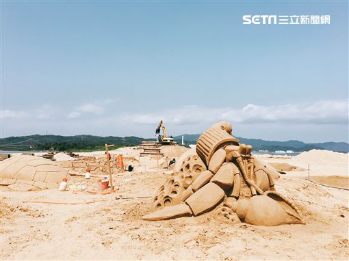 福隆國際沙雕藝術季,寄居蟹,/福容大飯店提供