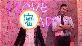 荒謬大師沈玉琳也參加陳建州新節目錄影,重現「黑琳練肖話」兩人組。(圖/翻攝自陳建州臉書)