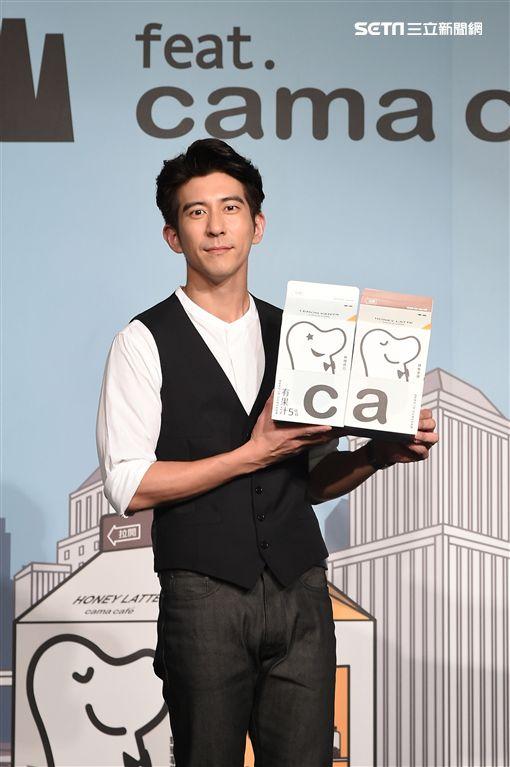 修杰楷出席咖啡代言活動。(圖/泰山企業提供)