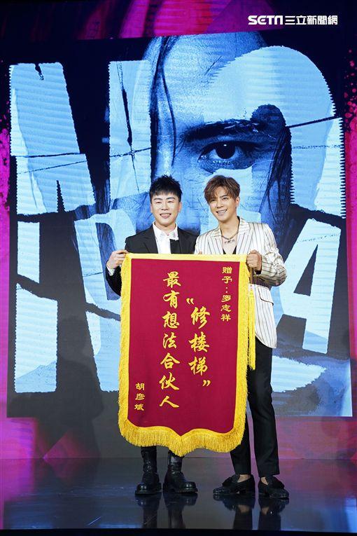羅志祥北京發片記者會。(圖/EMI提供)