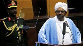 蘇丹國防部長奧夫(右)。(圖/路透社/達志影像)