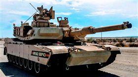 M1A2戰車 圖翻攝自F.S. Mei臉書