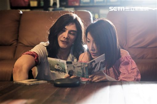 謝佳見、楊謹華兩人在戲中曾是一對情侶。(圖/八大提供)