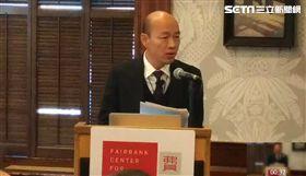 韓國瑜,訪美,2020,演講,哈佛,總統