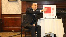 ▲韓國瑜赴哈佛演講,自稱光頭鄉村土包子(圖/高雄市政府提供)