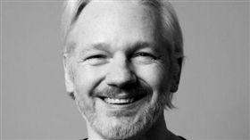 ▲維基解密創辦人亞桑傑(Julian Assange)。(圖/翻攝自Twitter)