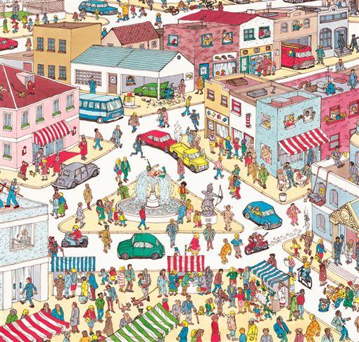 圖/翻攝自《Where's Wally?》推特