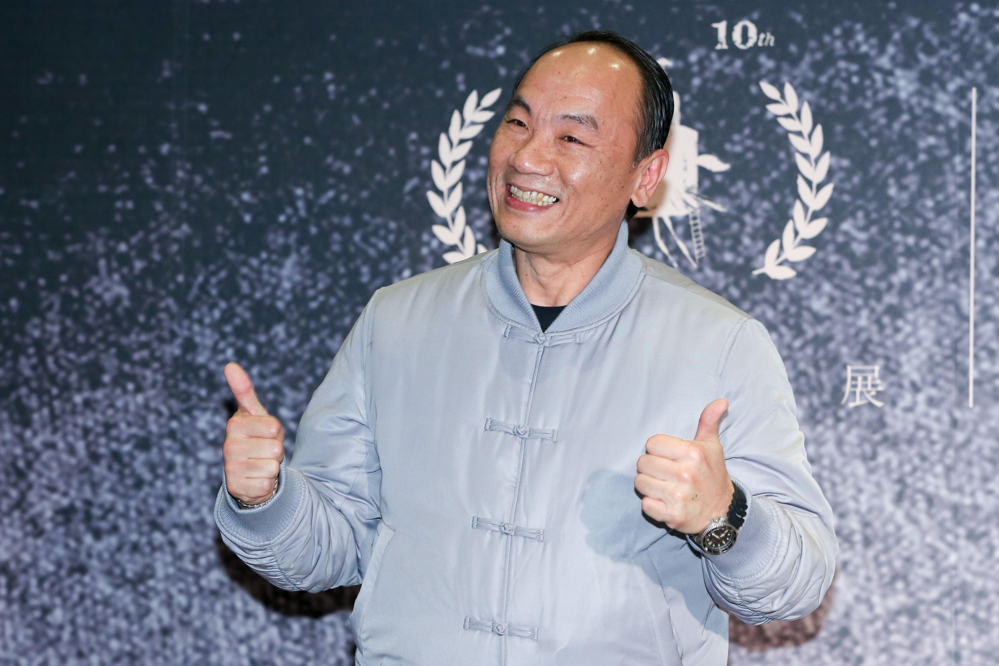 2019金馬奇幻影展開幕片「大體臨門」,演員王自強。(記者林士傑/攝影)
