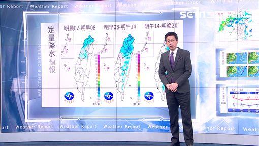 三立準氣象0412/週末北台灣濕涼 下週二強鋒面襲全台