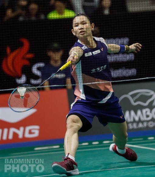 ▲戴資穎3局苦戰逆轉挺進冠軍戰。(圖/Badminton Photo提供)