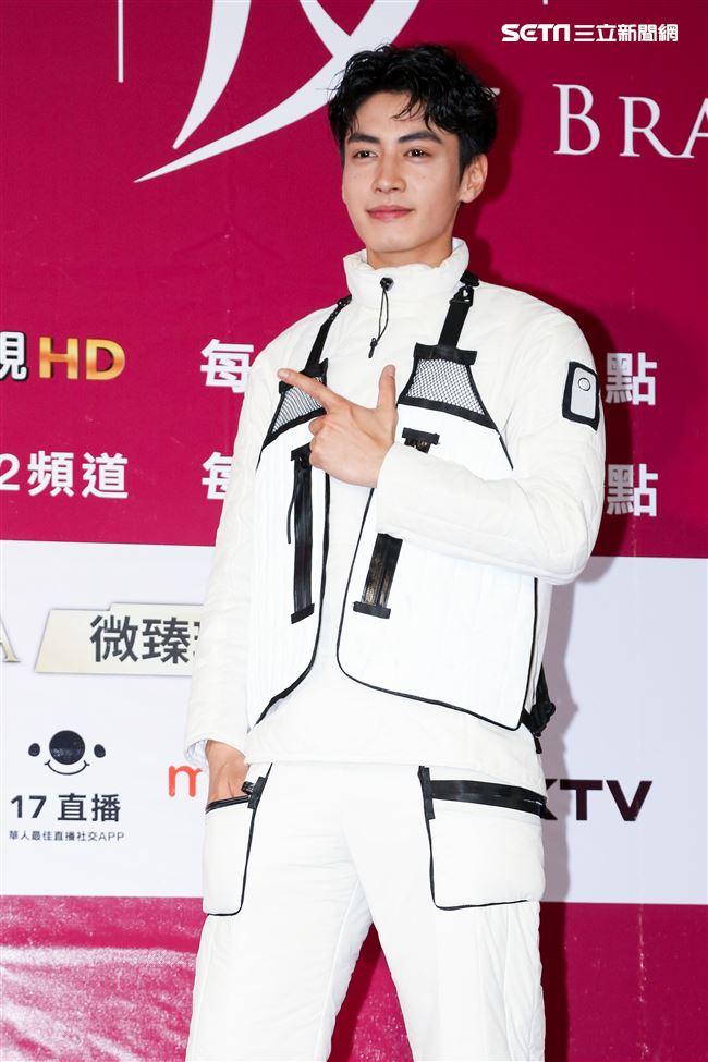 偶像劇《愛情白皮書》粉絲見面會,演員吳岳擎。(記者林士傑/攝影)