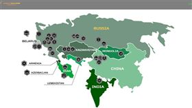 俄羅斯,國際軍事比賽,地圖,中國,台獨(圖/翻攝自國際軍事比賽網站)
