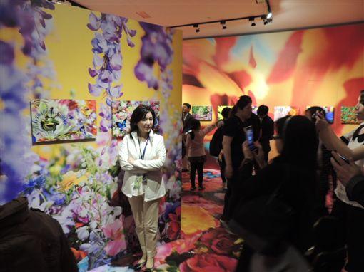 中華民國十大傑出青年春遊花博 讚園區永續生態多元展區
