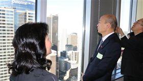 美西時間4/13上午市長參訪高科技產業Taboola,大數據分析產業。,高雄市府