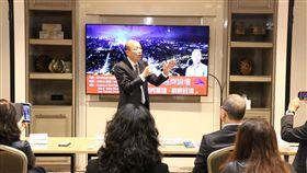 韓國瑜訪美參加全球玉山經濟論壇 (圖/高雄市政府提供)