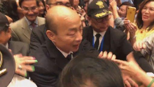 韓國瑜出席洛杉磯僑宴,臉書