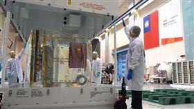 福衛七號,太空工業,衛星 (圖/翻攝自國家太空中心NSPO臉書)