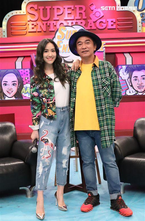 吳姍儒、吳宗憲《小明星大跟班》圖/中天電視提供