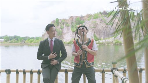 黃明志新歌致敬費玉清,找來林俊逸合唱。(圖/亞洲通文創提供)