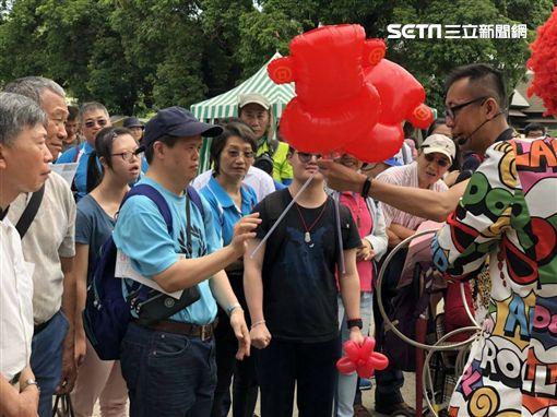 特奧運動員訪花博(中台市政府)
