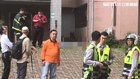 台北市文山區國宅驚傳跳樓自殺案件,19歲役男遭逢女友兵變,從住家頂樓一躍而下當場身亡(讀者提供)