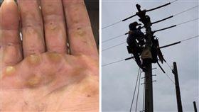店員找零「丟」桌上!工人手上全是繭...嘆:沒有我們哪來電可用(圖/爆怨公社)