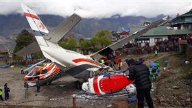 尼泊爾飛安意外 ▲(圖/翻攝自推特)