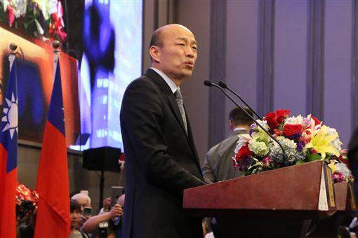 ▲高雄市長韓國瑜抵達美西演講茶會(圖/高雄市政府提供)