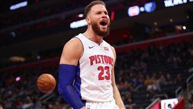 NBA/幹籃哥傷缺 活塞遭公鹿屠殺 NBA,季後賽,底特律活塞,Blake Griffin 翻攝自推特