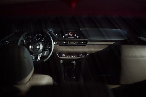 ▲8吋中央資訊顯示幕。(圖/Mazda提供)