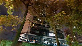 錦新大樓,凶宅。(圖/翻攝自GoogleMap)