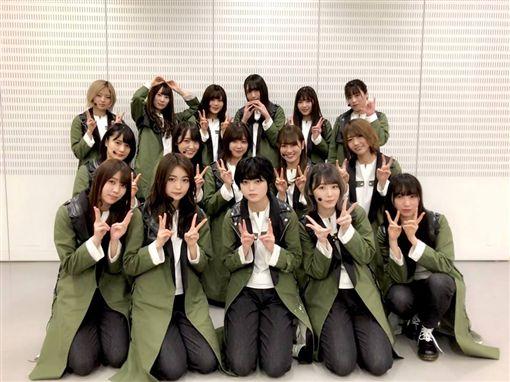 圖翻攝自欅坂46臉書