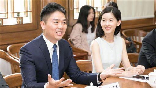 奶茶妹,劉強東/翻攝自奶茶妹微博