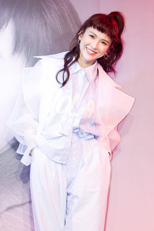 魏如昀2019全新單曲「深愛著」發布記者會。(記者林士傑/攝影)