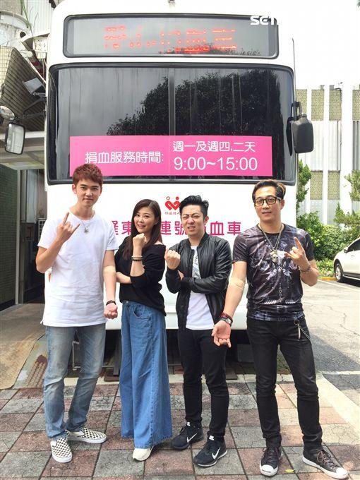 方馨、「87樂團」主唱艾成、阿修羅以及樂咖 圖/民視提供
